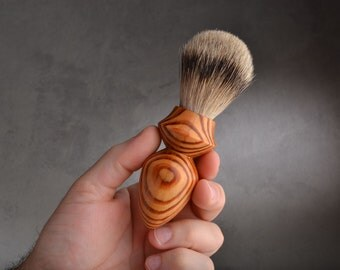 Shaving Brush Ready To Ship Best Badger Hair Shave Brush by Symmetrical Pottery