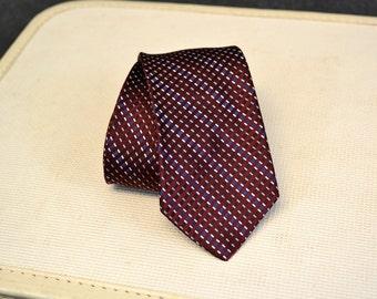 1980s Christian Dior Silk Necktie