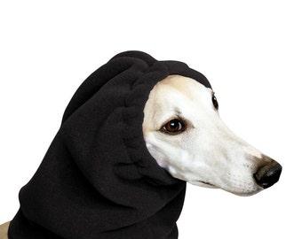 WHIPPET Dog Hood, Dog Hat, Snood
