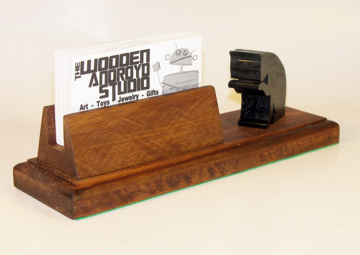 Black Cat Business Card Holder or Phone Stand, Charging Station ...