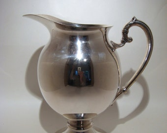 Lehman Silver Plated Pitcher