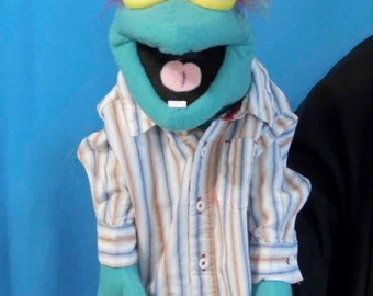 Buskie male Hand Puppet or Ventriloquist Figure