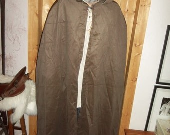 Brown corduroy cloak