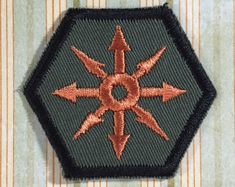 STEAMPUNK Merit Badge - Chaos Star Steampunk Scouts
