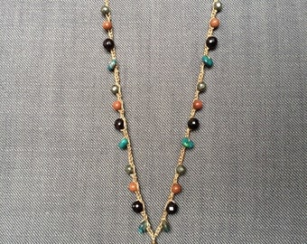 Boho Chic Imperial Jasper Necklace