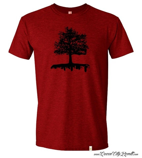 Cincinnati roots tshirt by queencityrevolt on etsy for Custom t shirts cincinnati