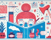 Making Things - Risograph Print
