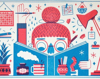 Making Things - Risograph Print
