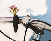 Twisted Handlebar Vase for your BIke, in Black