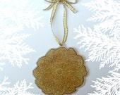 Pizzelle Ornament