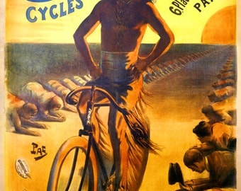 Cycles Cleveland Poster (#1376) 6 sizes