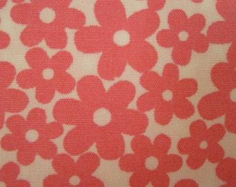 Robert Kaufman Fabric, Primatex Basics, BKT 6004-10, Pink, Flowers, Floral