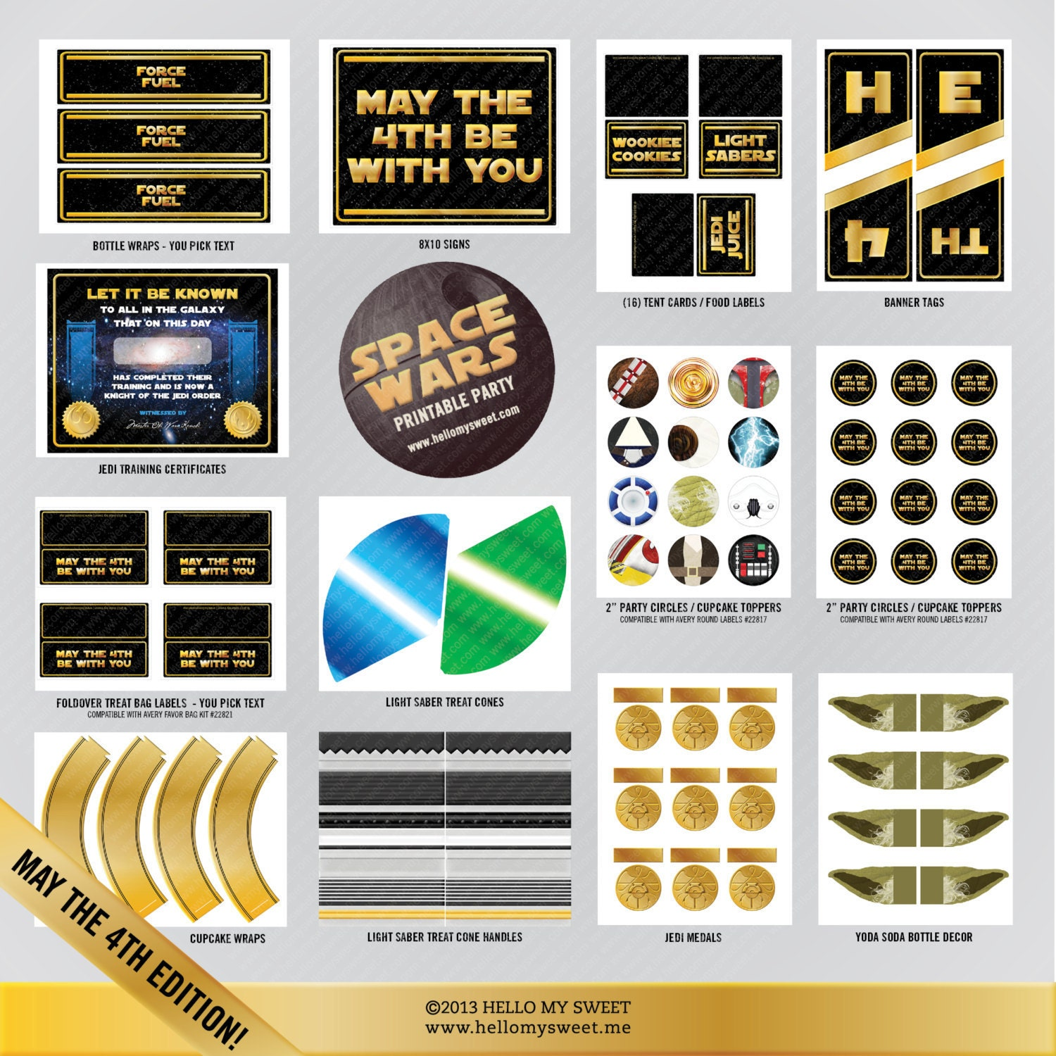 May The Fourth Be With You Party Supplies