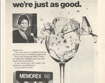 Is It Live Or Is It Memorex Poster