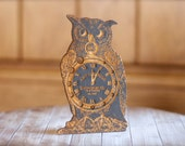 25% OFF Owl Knitting Needle Gauge : wooden knitters tool