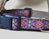 Dog Collar - Classic Purple -  50% Profits to Dog Rescue