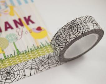 Spiderweb Cobweb Washi Tape (10M)