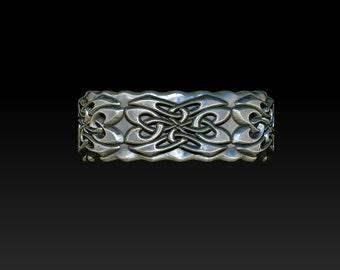 wedding ring celtic ring mens ring Celtic wedding band  celtic  wedding ring mens celtic ring B7A