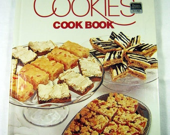 Vintage BHG COOKIES COOKBOOK Brownie Recipes Circa 1975 Better Homes Gardens