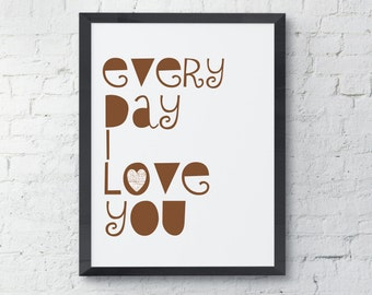 every day i love youEtsy