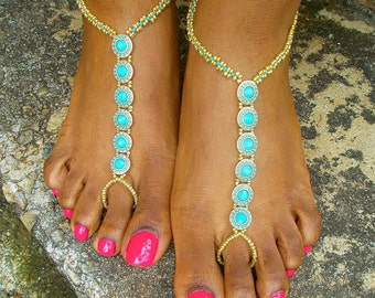 Bollywood Barefoot Sandals
