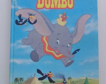 Vintage Walt Disney's Dumbo Hardback Children's Book