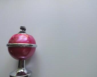 Vintage Pink Table Top Cigarette Lighter 1950s