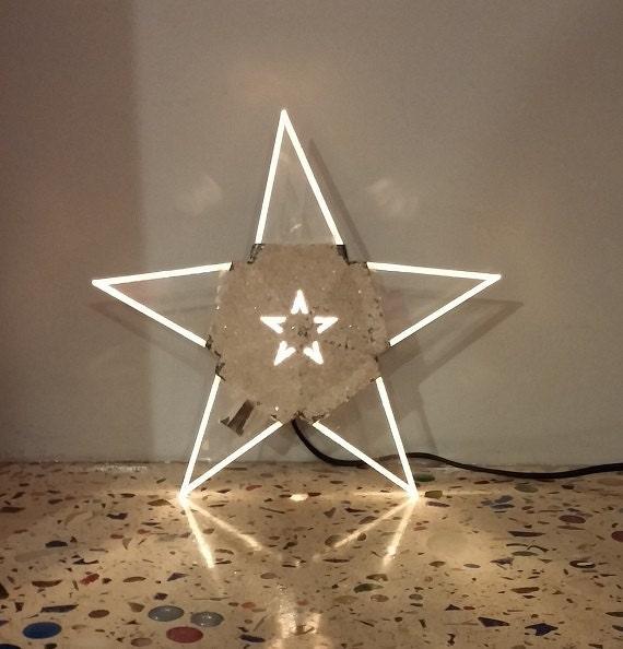 Vintage Star Tree Topper 90