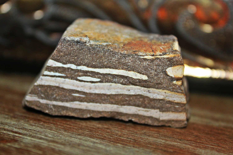 2 75 Zebra Jasper Crystal Stone Brown Striped Natural
