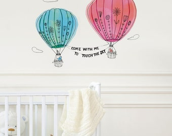 Touch The Sky Wall Sticker | LSB0069VCL-SWM