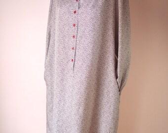 25.00 Sale. Schrader Sport Maroon Shirt Dress 1980's Secretary Day Dress Modern Modern Plus Size 22 W or  2 XL up to 24 W or 3XL VDS150