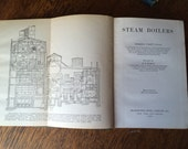 Pair of Vintage Books- Steam Boilers & Summer Tours in Scotland- Steamers