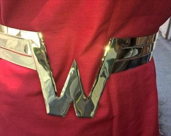 Wonder Girl / Woman Brass Belt