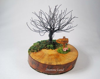 Into The Old Forest ~ OOAK Wire Tree Sculpture ~ Hobbit LOTR Inspired ~