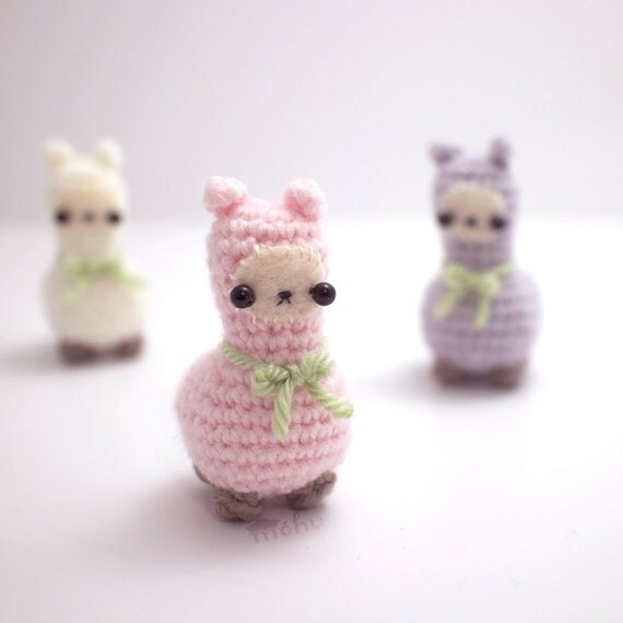 Crochet Llama Amigurumi Pattern : crochet llama plush amigurumi animal