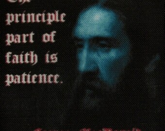 GEORGE MACDONALD QUOTE - Printed Patch - Sew On - Vest, Bag, Backpack, Jacket p604