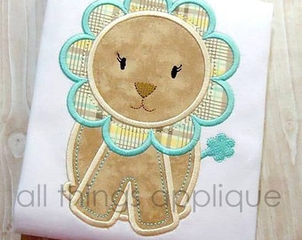 Baby Lion Applique Design (#634) - 4 Sizes Included - INSTANT DOWNLOAD