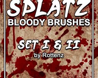 Splatz Bloody Brushes