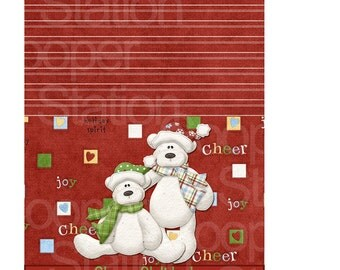 Digital Printable Christmas Popcorn Wrapper