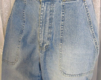Vintage 90s women's Liz Claiborne Liz Wear Tabitha  blue denim jeans size 8