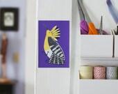Hoopoe Bird Removable Decal / Bird Sticker / Removable Wallpaper / Original Illustration / Vinyl Decal / Bumper Sticker