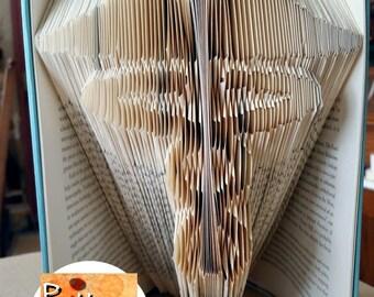 Medical Staff Symbol Folded Book Art Pattern