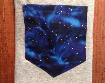 Stars Galaxy Pocket shirt s/m/l/XL