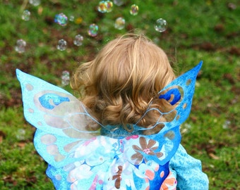 Custom Fairy Wings- Children's Butterfly, Fairy or Dragon Wings- costume or photography prop