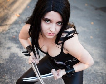 X-23 from X-men cosplay print