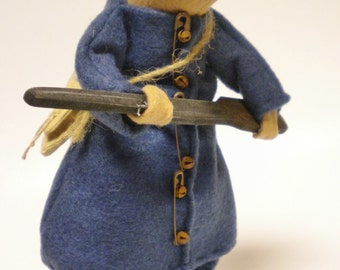 Union Soldier Mouse - Made To Order, Civil War Decorations, Primitive Mouse, Handmade Mice