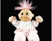 MY BIRTHDAY SALE Russ, Troll, 9 inch, Kidz Doll, Baby Gaa Gaa