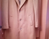 Vintage Men's Cashmere Blend Coat