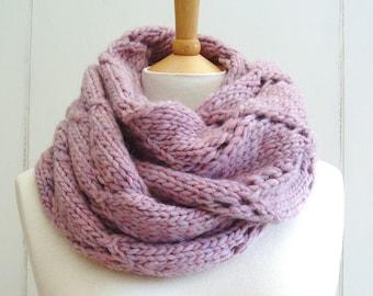 Knitting PATTERN Scarf with Diamond Lattice Scarf Wrap Instant Digital Download