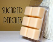 Sugared Peaches Scented Wax Tarts